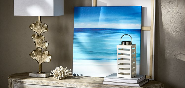 The Coastal Home: Art & Lighting
