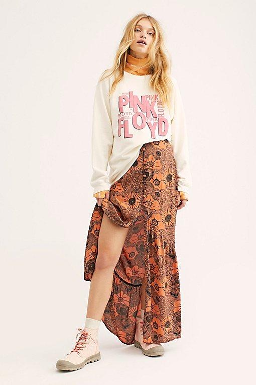 Unbutton Me Maxi Skirt