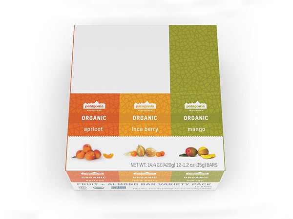 Organic Fruit + Nut Bars, Variety Pack