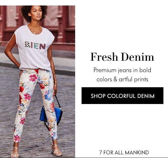 Shop Colorful Denim