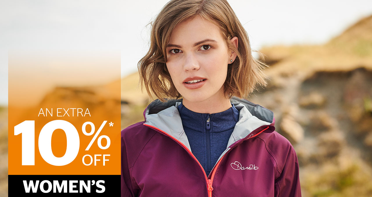 An extra 10% off Womens