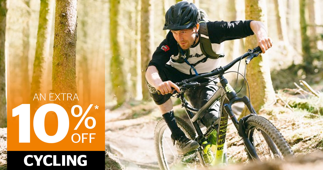 An extra 10% off Cycling