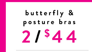 Butterfly & Posture Bra - Shop Now