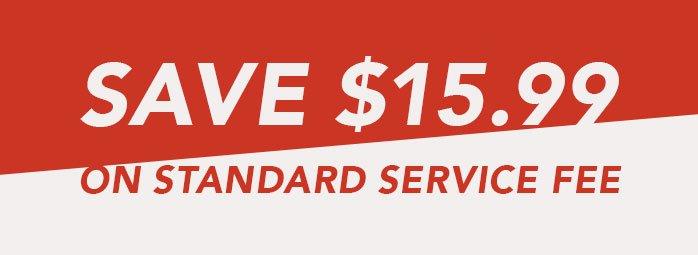 Free Service Fee