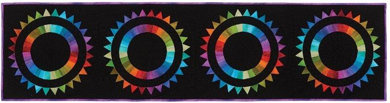 Aurora Borealis Runner Pattern By Carl Hentsch