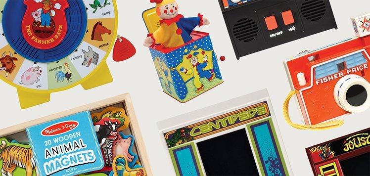 Nostalgic Toys With Schylling