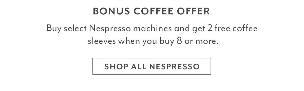 Shop All Nespresso