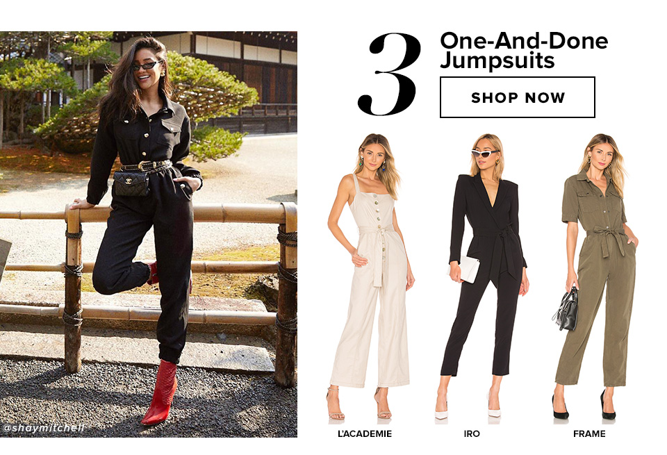 3 One-And-Done Jumpsuits. Shop now.