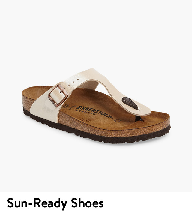 Shop women's sandals in your size.