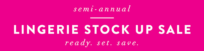 Stock up sale - Shop Now