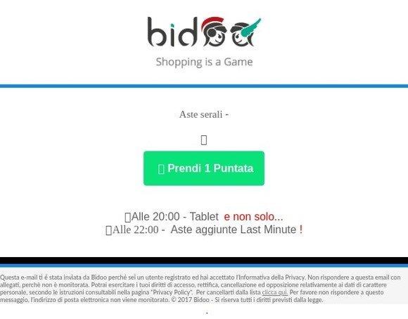 Dátumové údaje lokalít bidoo