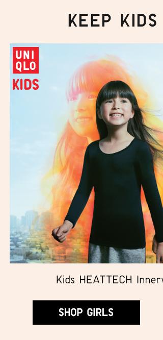 KIDS HEATTECH INNTERWEAR STARTING AT $9.90 - SHOP GIRLS