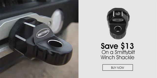 Save $13 On a Smittybilt Winch Shackle