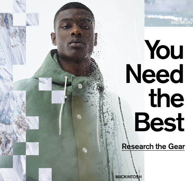 You need the best.