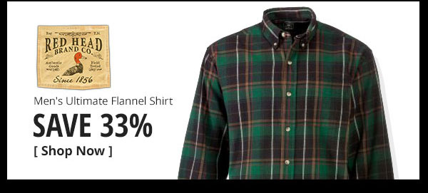 RedHead Ultimate Flannel Shirts