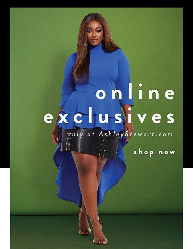 Online Exclusive - Shop Now