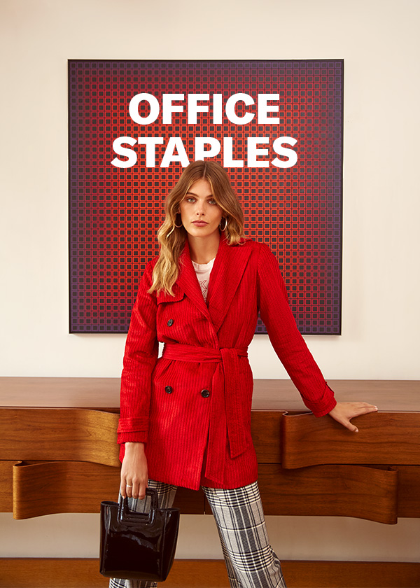 Our latest tailored-chic separates will carry you from 9 to 5… and then some (how's that for working overtime?).