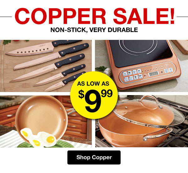 Shop Copper Sale!