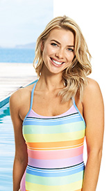 209f88f4112dd ... Shop Zoggs Womens Toggs Tranquil T Back Swimsuit ...