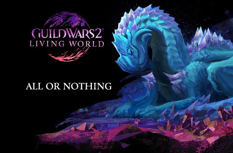 ArenaNet/Guild Wars 2: Battle the Elder Crystal Dragon in Guild Wars