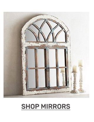 Shop mirrors.