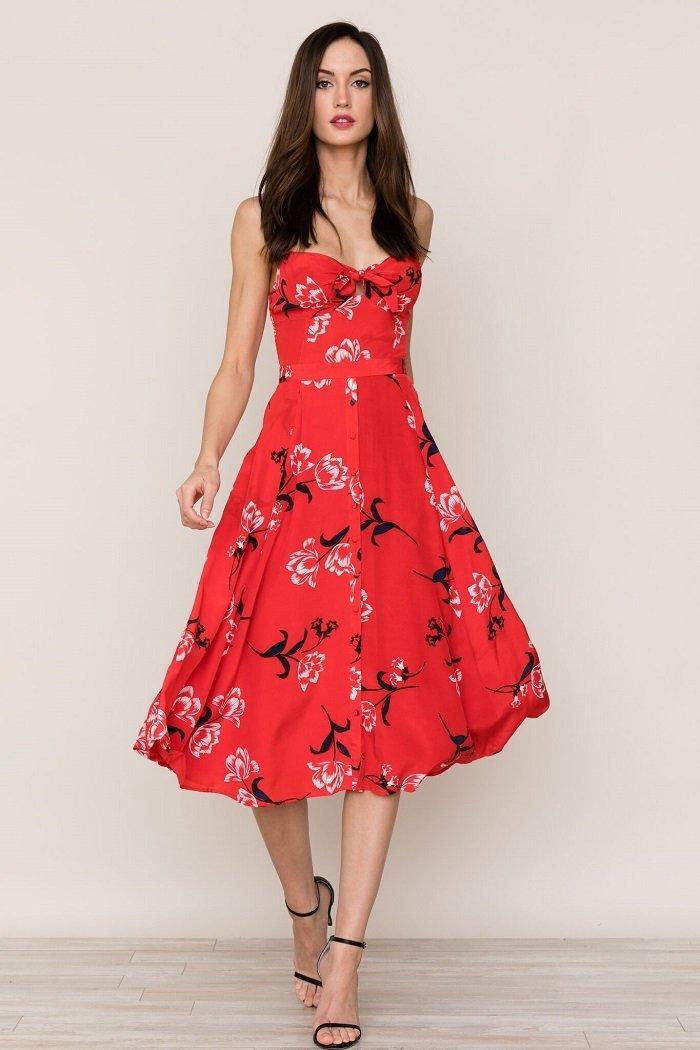 Image of Pretty Woman Silk Dress