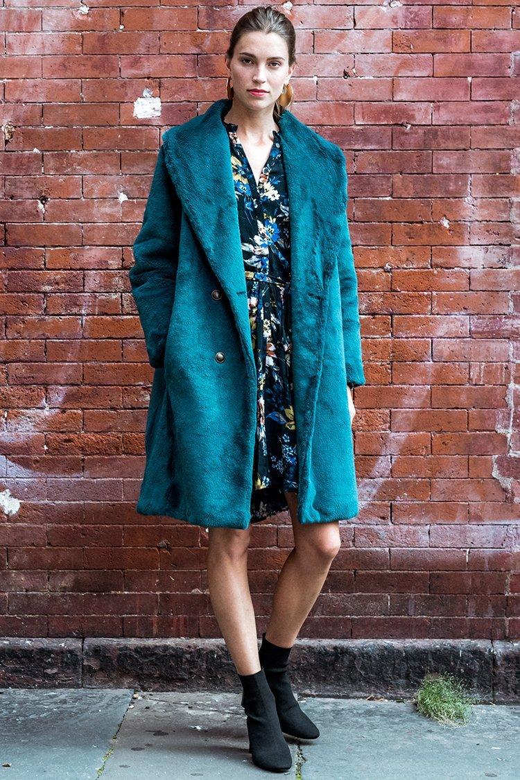 Image of Aspen Faux Fur Coat