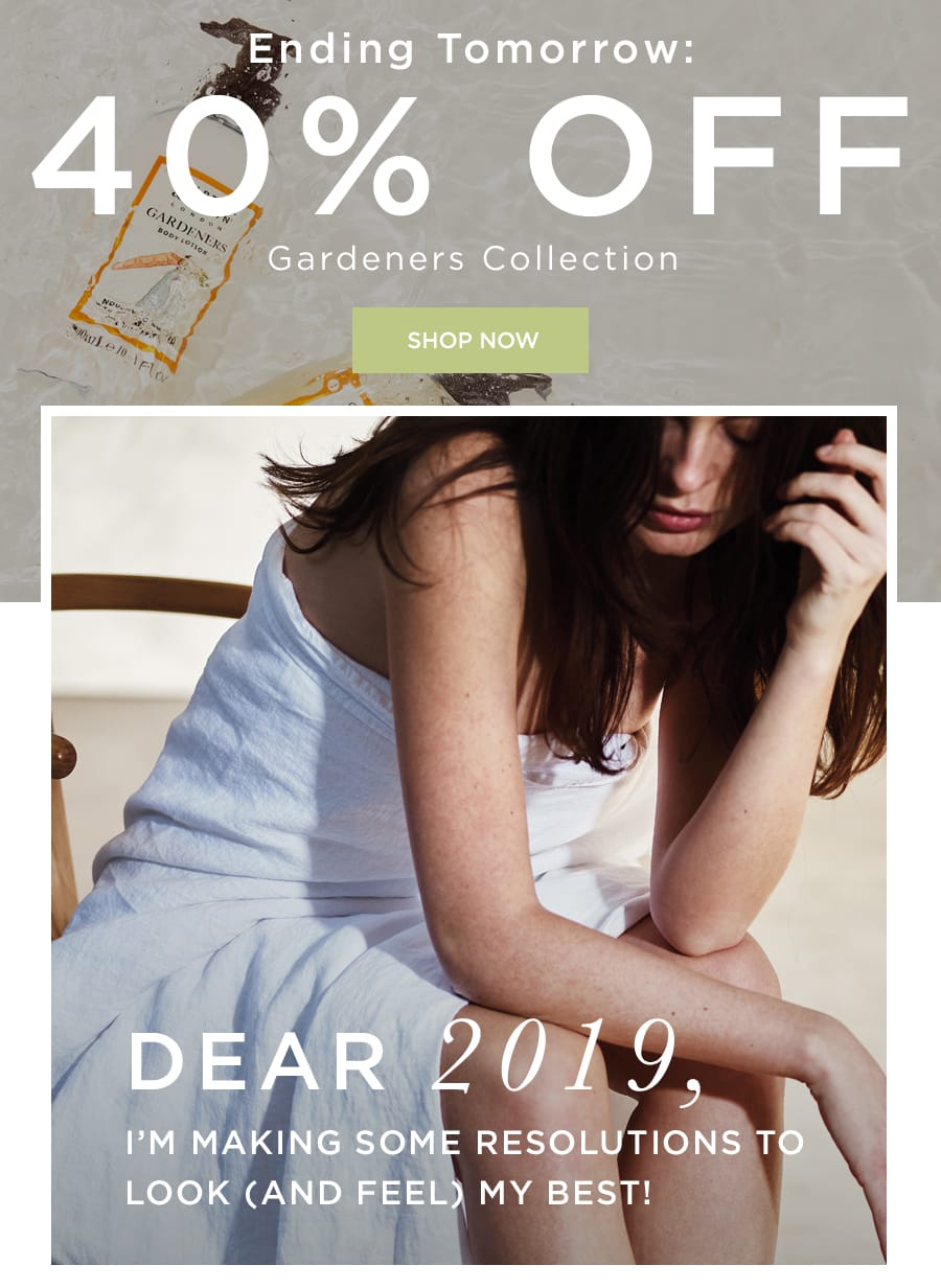 40% OFF Gardeners Collection