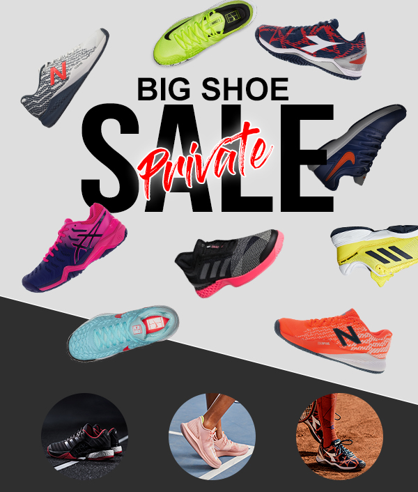 Tennis Express Private Big Shoe Sale Extra 20 Off Clearance