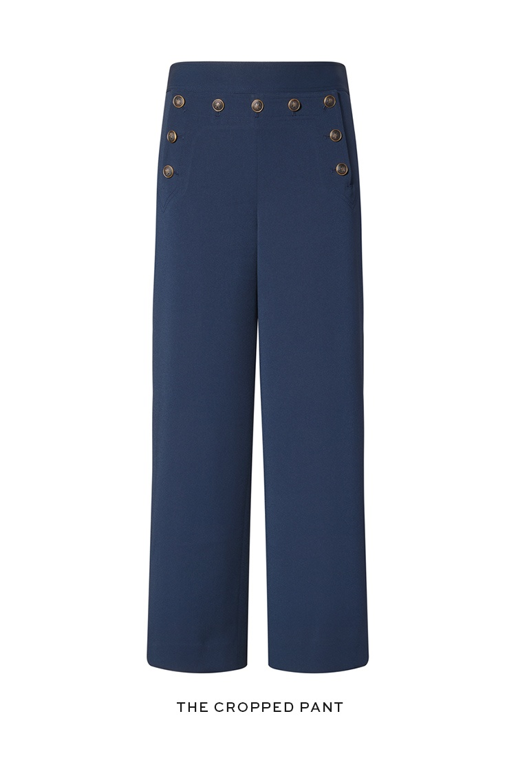The cropped pant