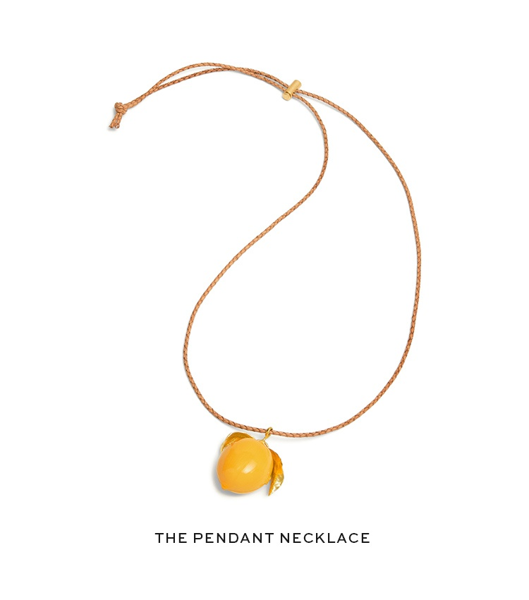 The pendant necklace