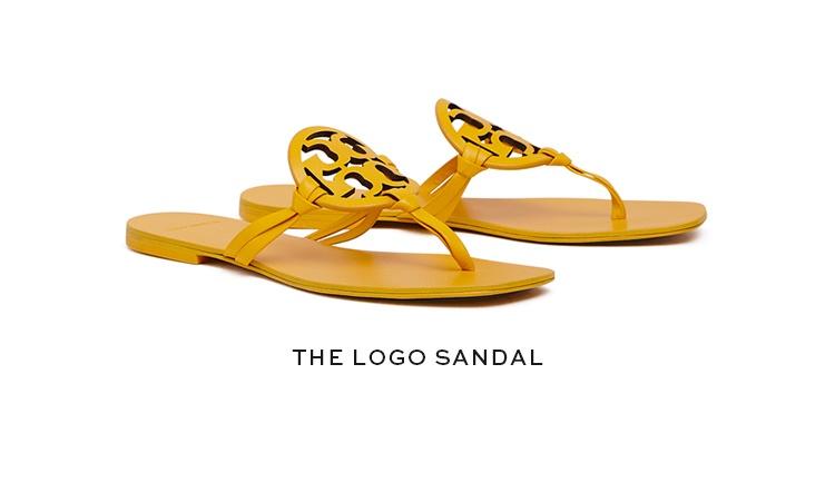The logo sandal