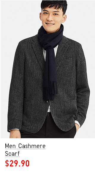 MEN CASHMERE SCARF $29.90