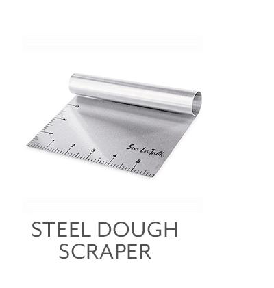 Steel Dough Scraper