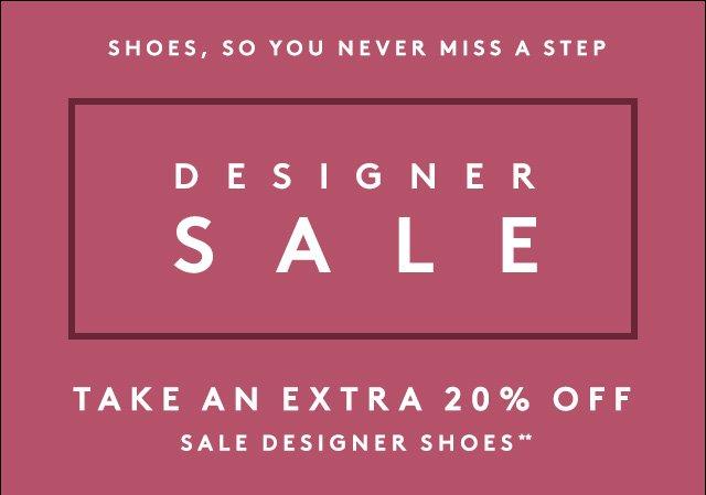 Save big in our Designer Sale.