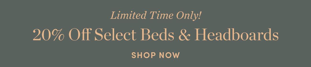 20% off Beds & Headboards