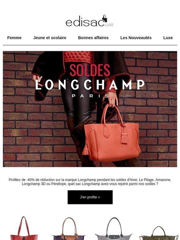 edisac: Soldes Longchamp - Jusqu'à -40% de réduction sur la ...