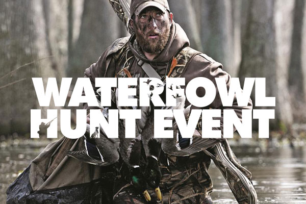 WATERFOWL HUNT EVENT