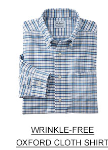 Wrinkle-free oxford cloth shirt