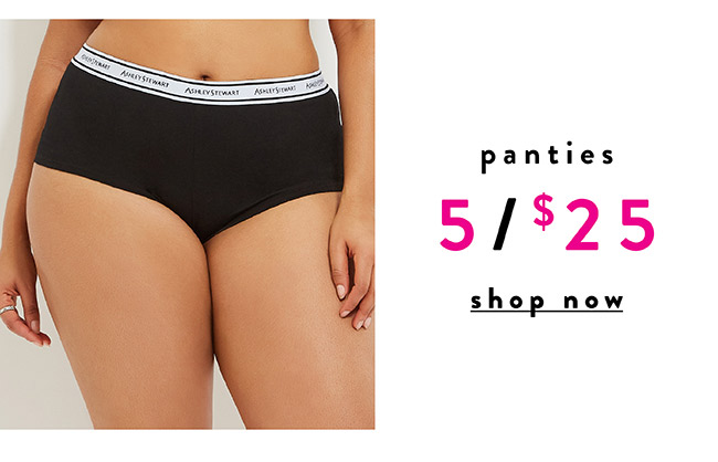 Panties - Shop Now