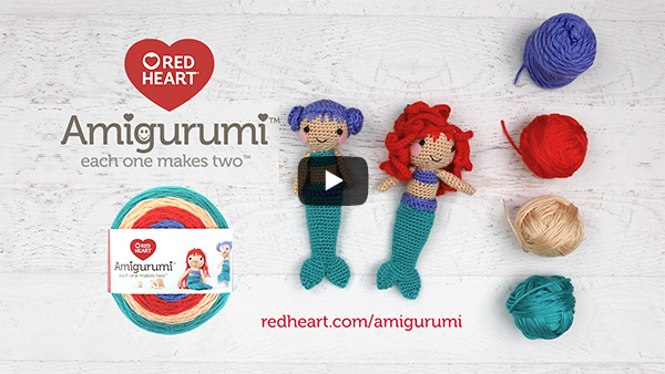 Red Heart - Amigurumi Yarn - American Yarns | 338x600