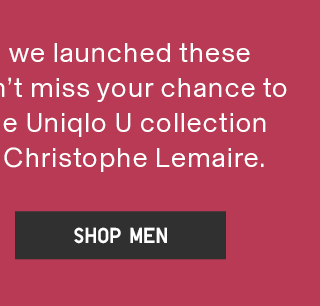 UNIQLO U - SHOP MEN