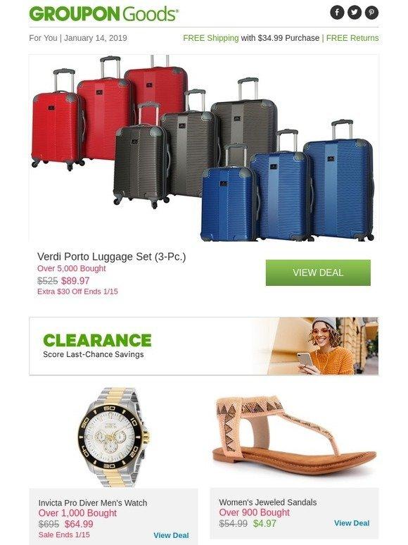 990e2992975b Groupon  Shop Clearance