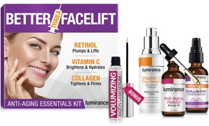 Lumirance Anti-Aging Essential Skincare Kits (3- or 4-Piece)