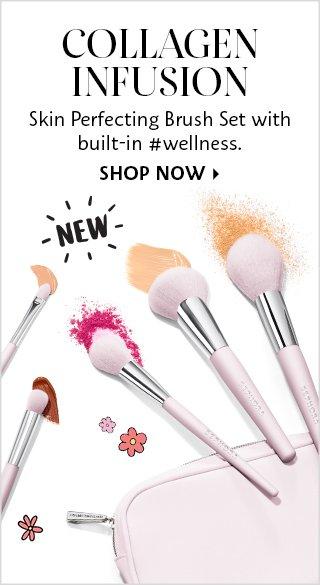 Shop Now Skin Perfecting Brush Set