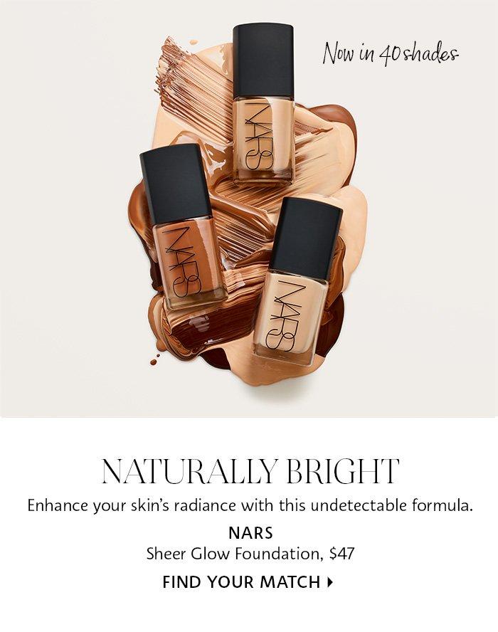 Nars - Sheer Glow Foundation