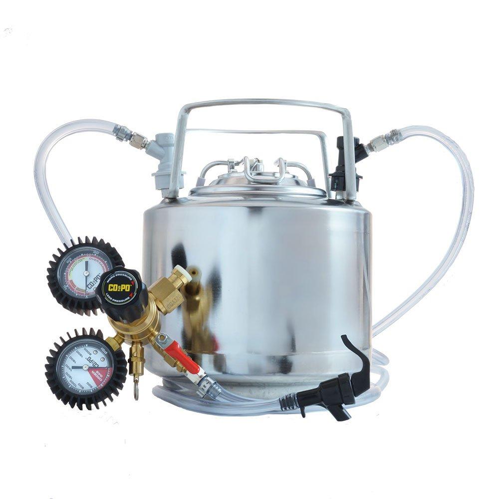 Draft Brewer® Cannonball® 1.75 Gallon Mini Keg System