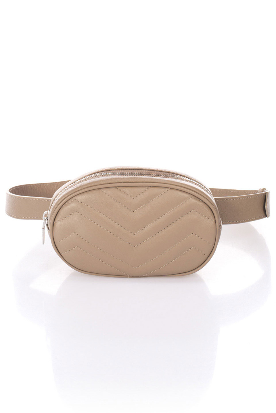 Flair Pouch Bag in Taupe