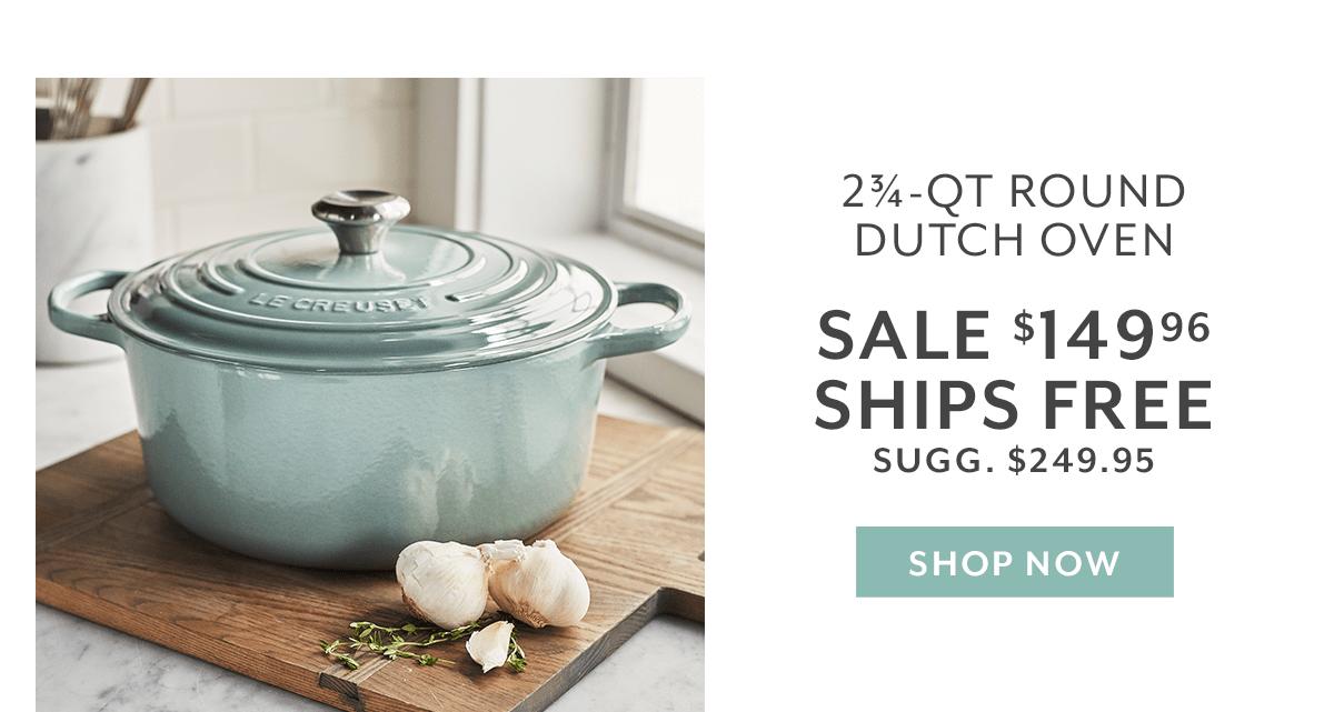 Le Creuset Round Dutch Oven, 2.75 qt.