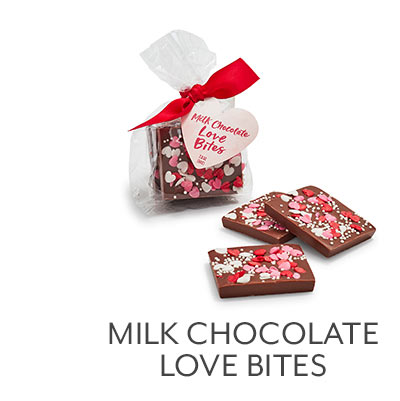 Milk Chocolate Love Bites